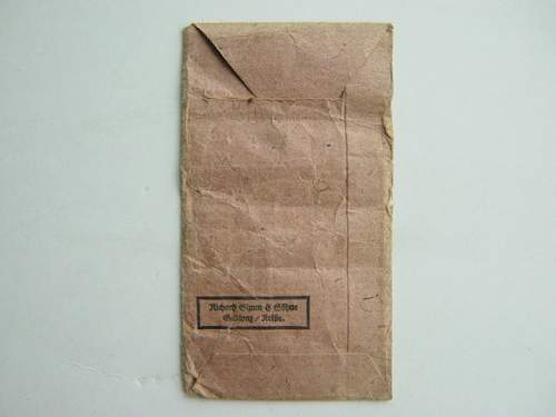 Click image for larger version.  Name:Eastern Front medal packet reverse..jpg Views:117 Size:145.1 KB ID:35588