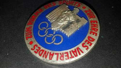Olympic badge for sale