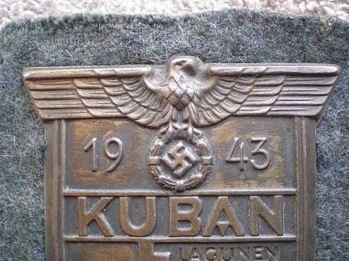 kuban shield, maker?