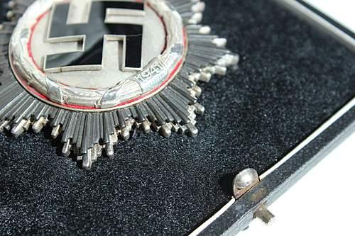 Deutsches Kreuz in Silber.