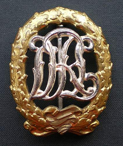 De-Nazified DRL Sports Badges