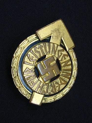 HJ Golden Leaders Sport Badge