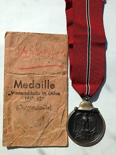 New Ostmedaille for the collection