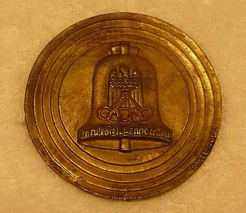 Click image for larger version.  Name:Olympic Table Medal Back No Flash.jpg Views:1232 Size:121.6 KB ID:366312