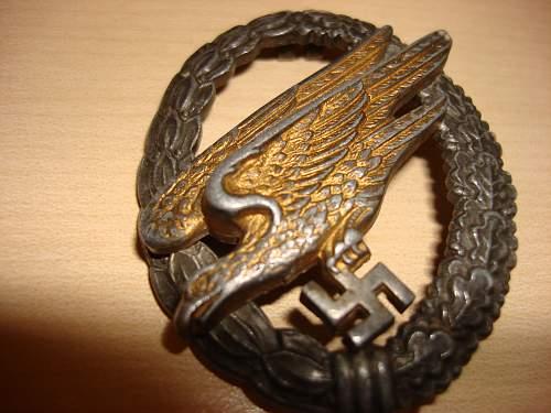 German badge  fake??