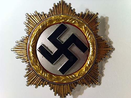 Anyone taken a look at the Deutsche Kreuz in Gold on the classifieds for alt=,200?