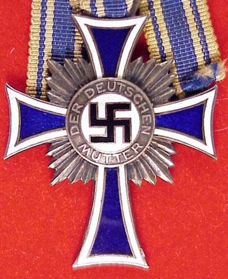 Strange Mutterkreuz in the classifieds section.