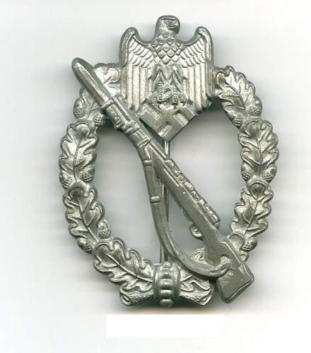 DRL / Wound Badge / Inf. Assault