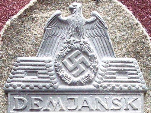 Demjanskschild (opinions)