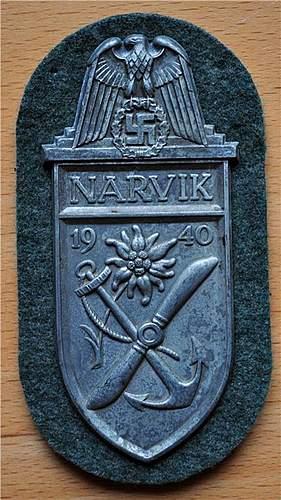 Narvikschild  - opinion?