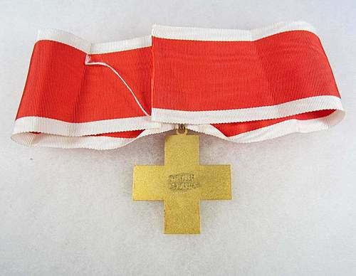 Deutsches Rotes Kreuz Neck order/decoration