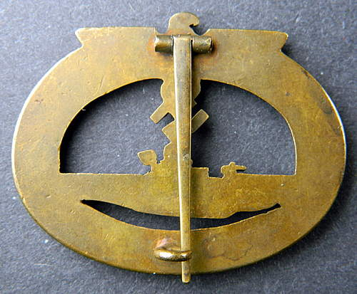 U-Boots Kriegsabzeichen