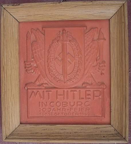 Mit Hitler in Coburg