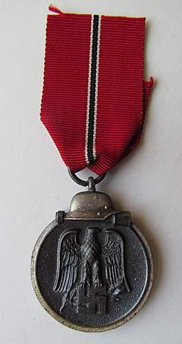 Winterschlacht im Osten (Russian Front medal)