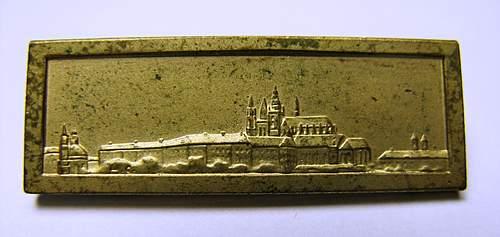 Original Spange zur Medaille zur Erinnerung an den 1. Oktober 1938???