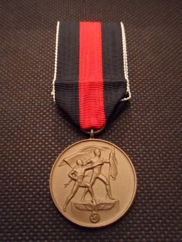 Medaille zur Erinnerung an den 1. Oktober 1938 - Original or Fake?