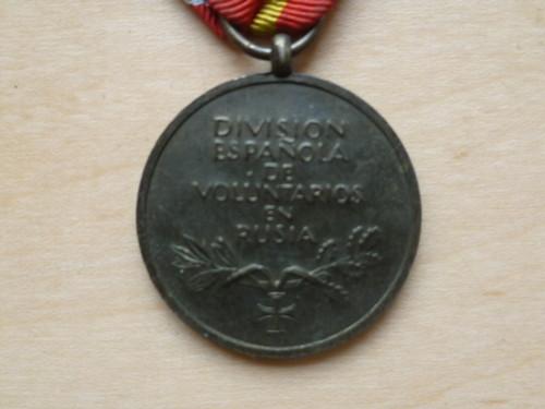 """Tapferkeits- und Erinnerungsmedaille der Spanischen """"Blauen Division"""" medal: original?"""