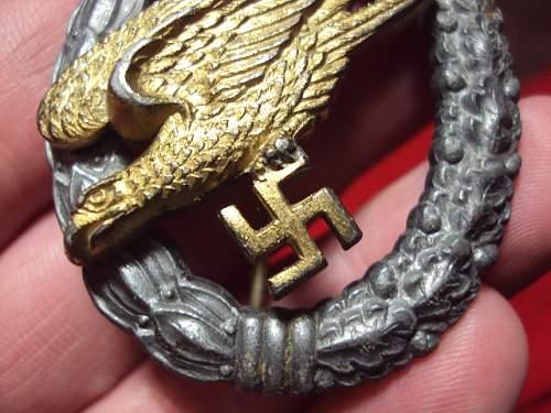 Fallschirmschutzenabzeichen