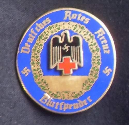 Deutsches rotes kreuz bludspender awards