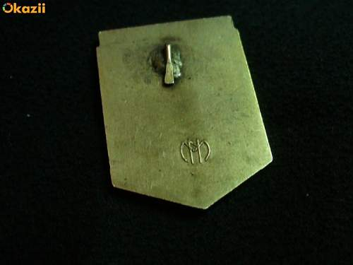 MARKING MARKS  GERMAN Badge