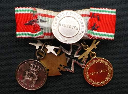 The 1914/1918 Ehrenkreuz