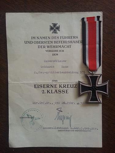 Click image for larger version.  Name:eiserne kreuz 2nd class stamped 55.jpg Views:57 Size:225.8 KB ID:410705