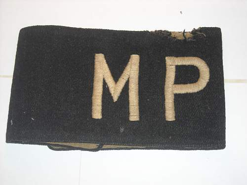 Click image for larger version.  Name:4 ww2 mp arm band.jpg Views:66 Size:234.9 KB ID:41265