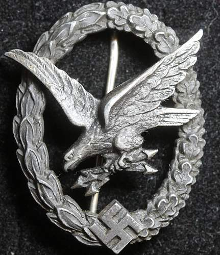 Luftwaffe badges for review