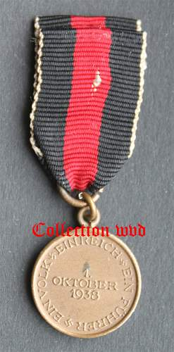 1 oktober medaille with mini