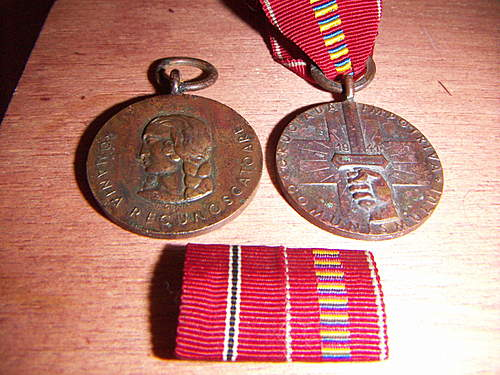 Romanian Anti-Communist medal awrded to German soldiers...original?