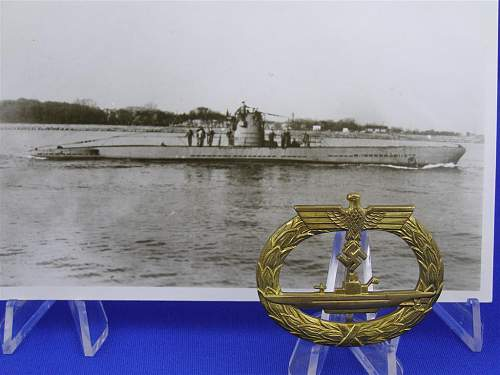 Click image for larger version.  Name:B H Mayer U-Boat & photo.JPG Views:47 Size:91.7 KB ID:418411
