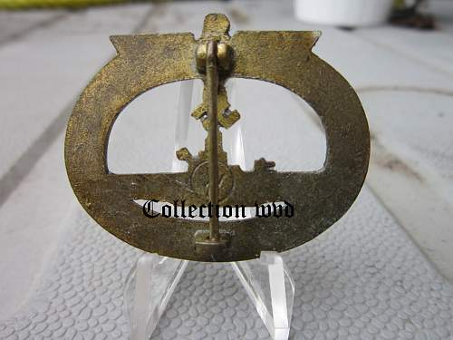 U-Boat Abzeichen