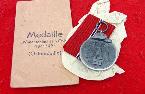 Ostmedaille Paper Envelope/packet  Good One??