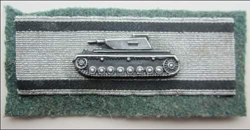 Panzervernichtungsabzeichen in Silber good??
