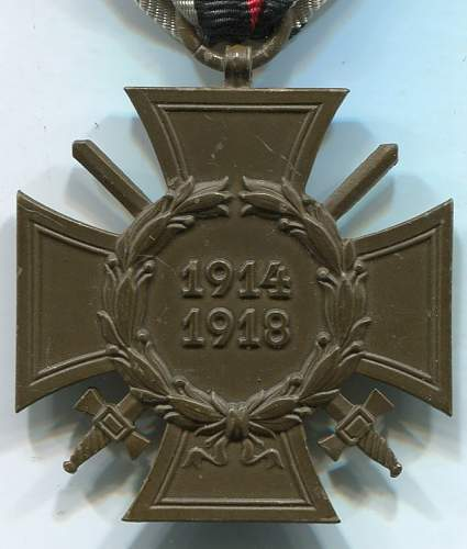 1914-1918. Ehrenkreuz
