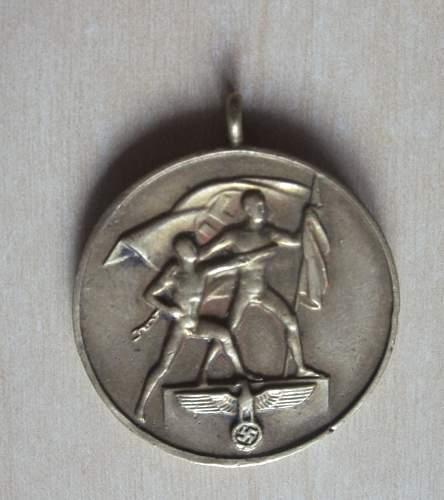 opinions Die Medaille zur Erinnerung an den 1.