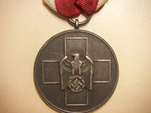 Medaille Deutsche Volkspflege for review