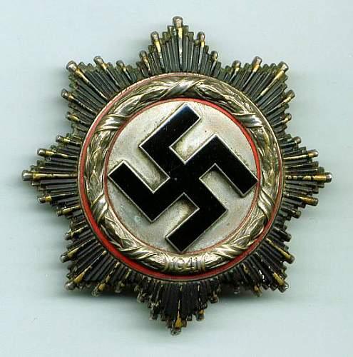 Deutsche Kreuz in Silber