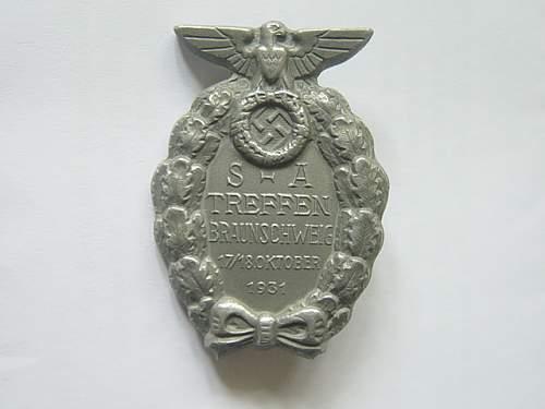 SA Treffen Braunschweig 1931