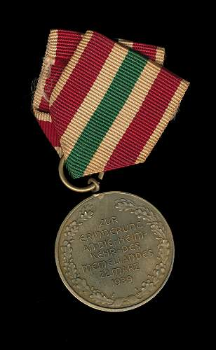 Memellandes medal