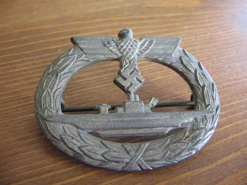 U-Boot-Kriegsabzeichen help