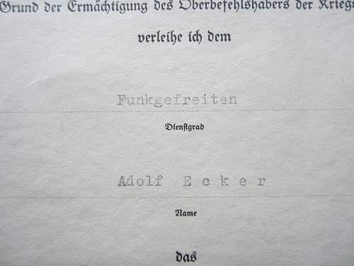 RSS marked Minensuch Kriegsabzeichen - Good or bad?
