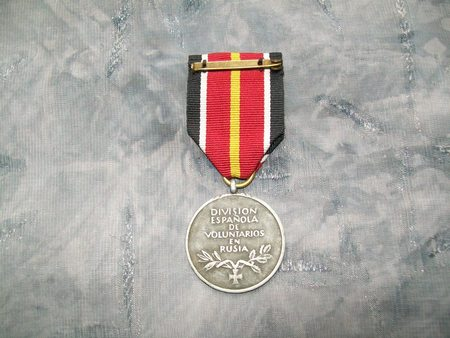medaille der Spanischen Blauen division opinions