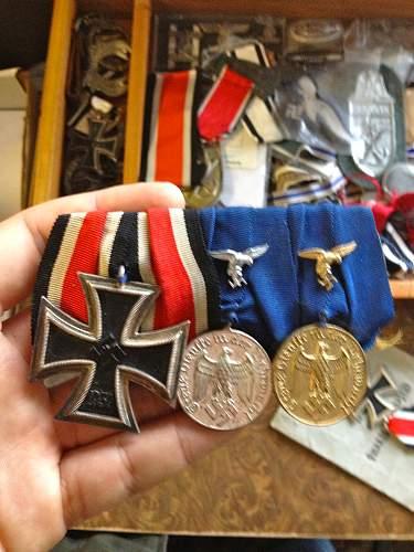 LW medal Bar