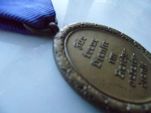 Reichsarbeitsdienst medaille