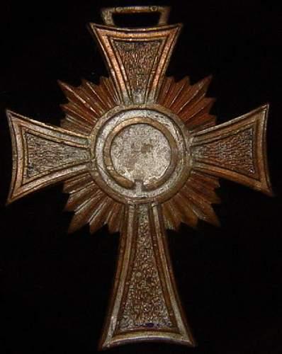 Ehrenkreuz der Deutsche Mutter