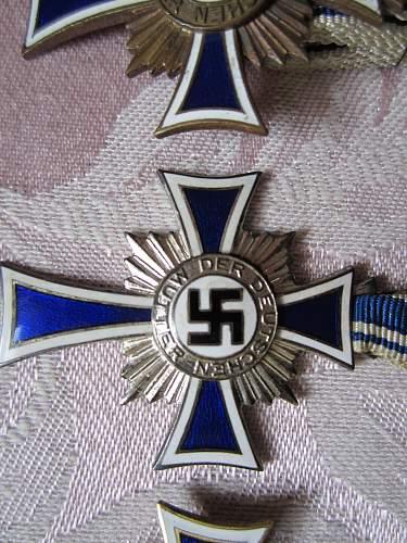 Mutterkreuz plus mini