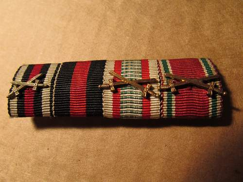 WWII Ribbon Bar...or is it??