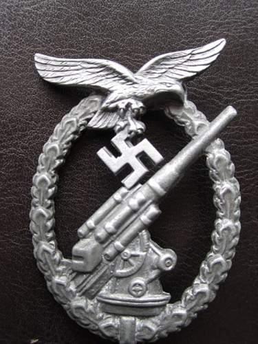 Flakkampfabzeichen der Luftwaffe: opinions for a friend please
