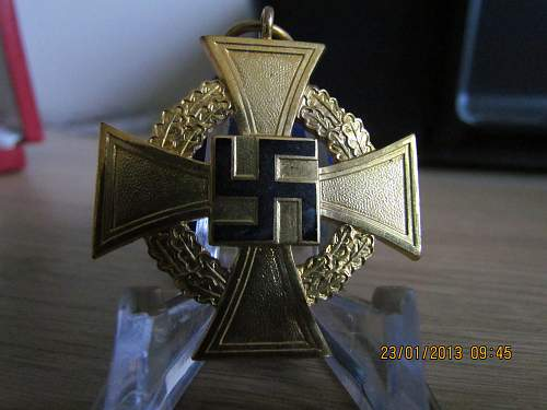 Treue Dienst Ehrenzeichen, 40 Jahre, boxed...